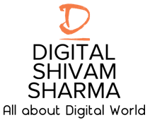 Digital shivam sharma logo