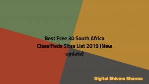 Best Free 30 South Africa Classifieds Sites List 2019 (New update)
